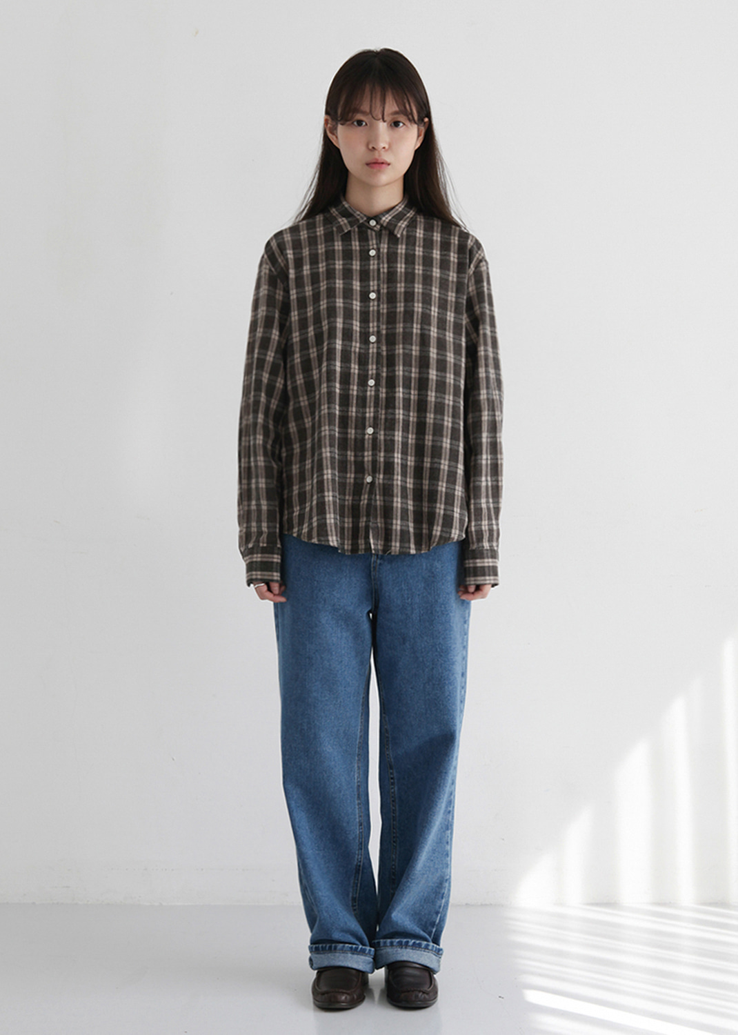 WARM COTTON CHECK SHIRT