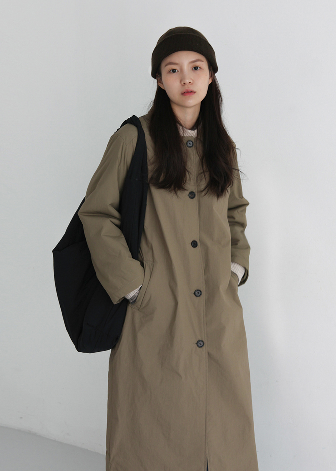 CLASSIC BONDING MAC COAT (recommend!)